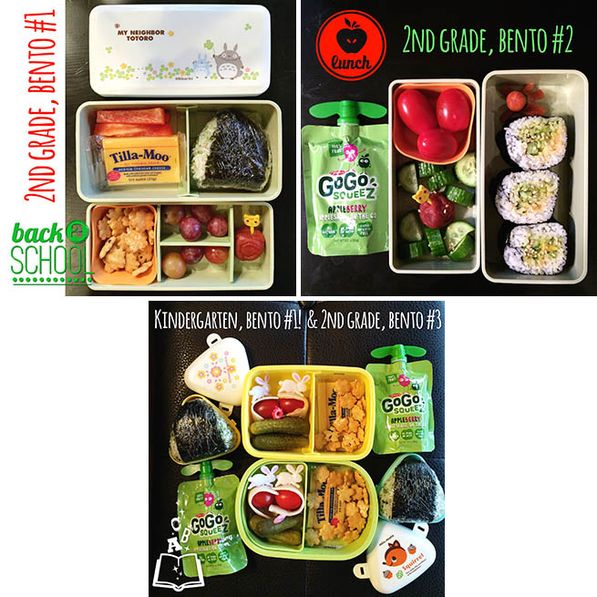 Back to School Bentos