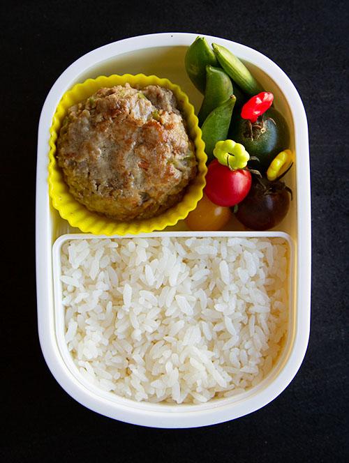 Japanese Hambagu Bento