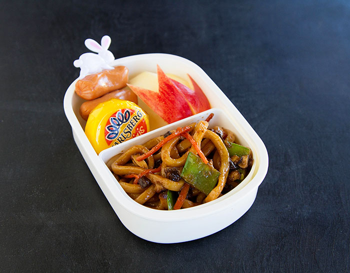 Yaki Udon Moon Viewing Bento