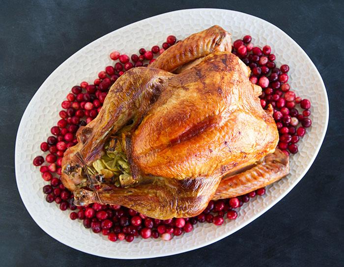 Lemon and Fennel Roast Turkey