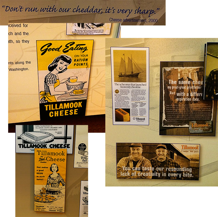 Tillamook advertising campaigns