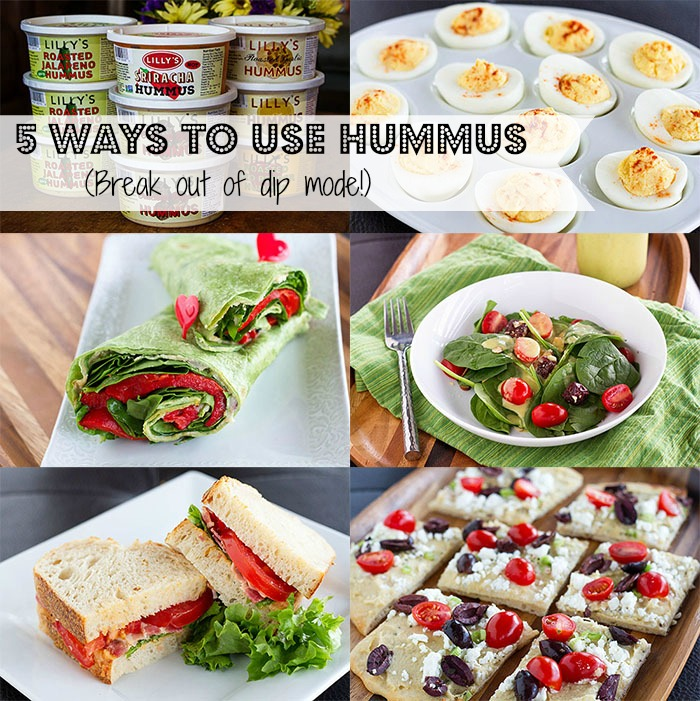 5 ways to use hummus