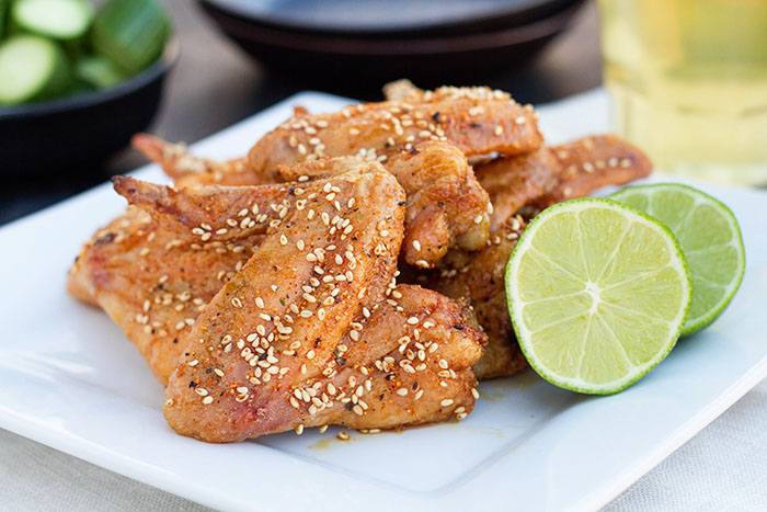 Japanese Oven Fried Chicken Wings