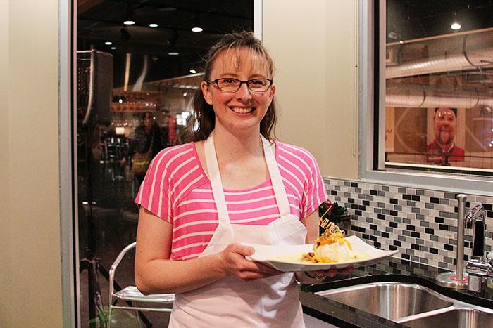 Dessert Round Winner JaNell Wood