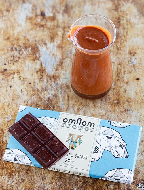 Omnom Papua New Guinea Chocolate Barbeque Sauce