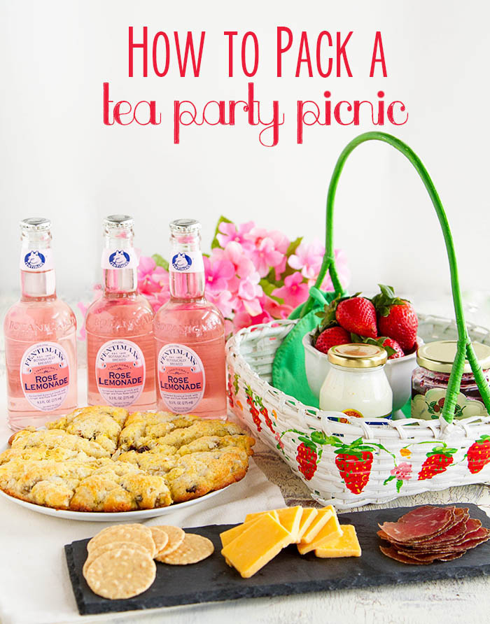 How to Pack a Tea Party Picnic