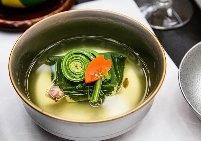 Kaiseki soup