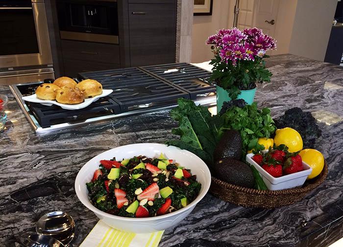 Kale Salad on KUTV