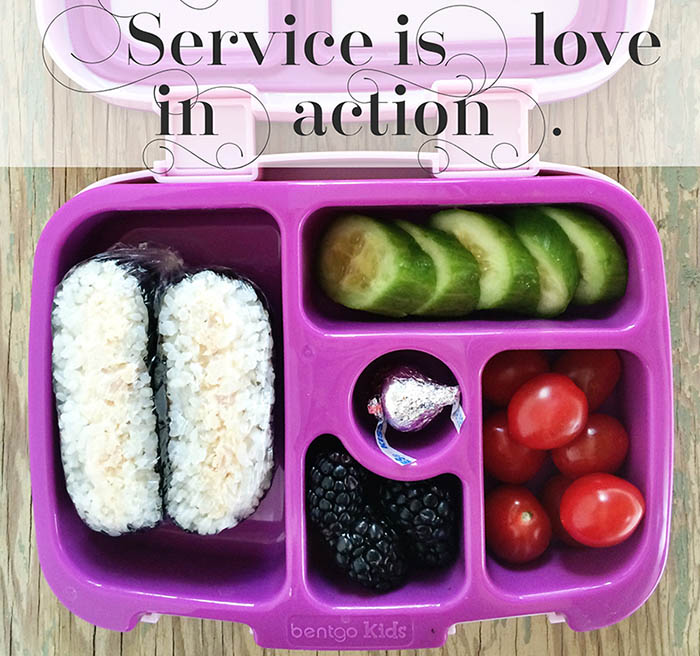 Packing Love for Lunch
