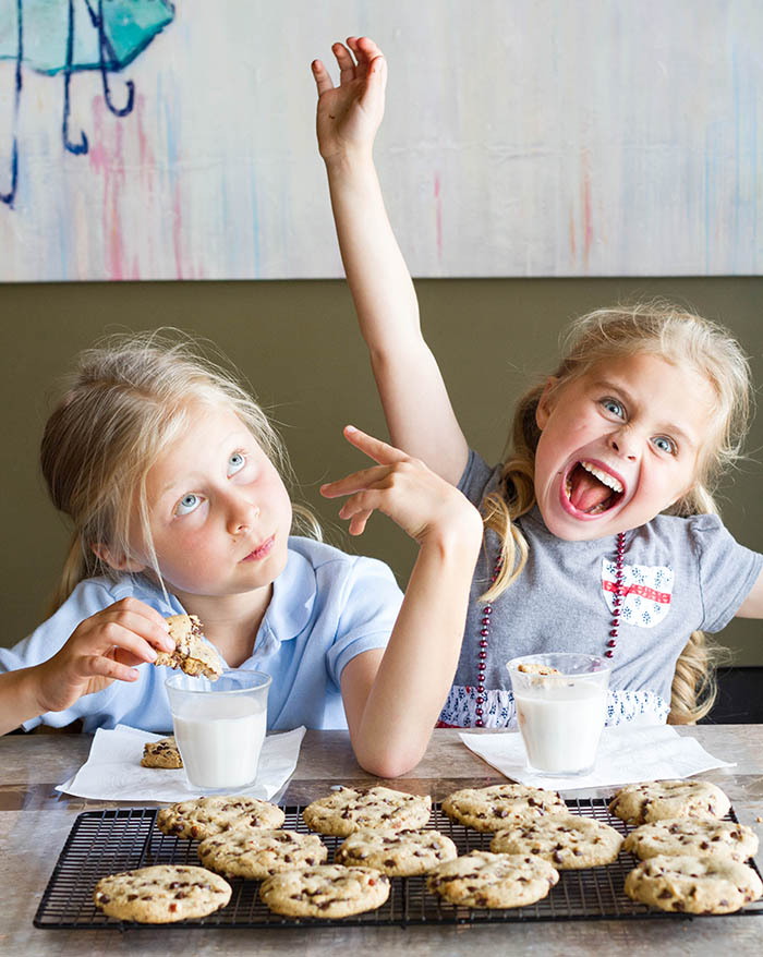 Chocolate chip cookies may make your children crazy