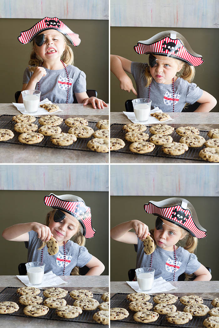 Pirates love chocolate chip cookies