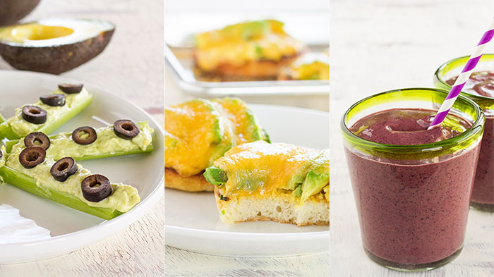 California Avocado After-School Snacks