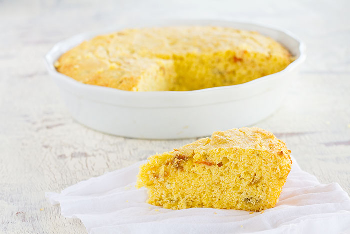 Roasted Hatch Chile Cornbread