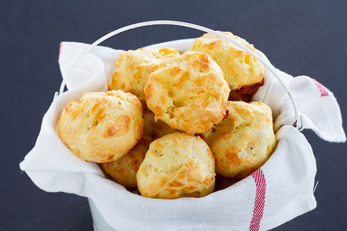 Cheddar Cheese Gougeres