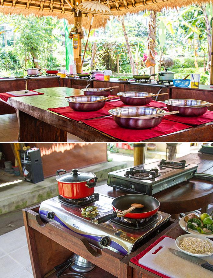 Pemulan Balinese Farm Cooking School in Bali