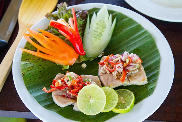Tuna with Sambal Matah