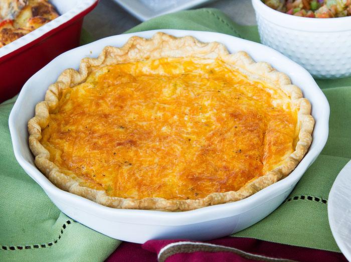 how to make quiche pie