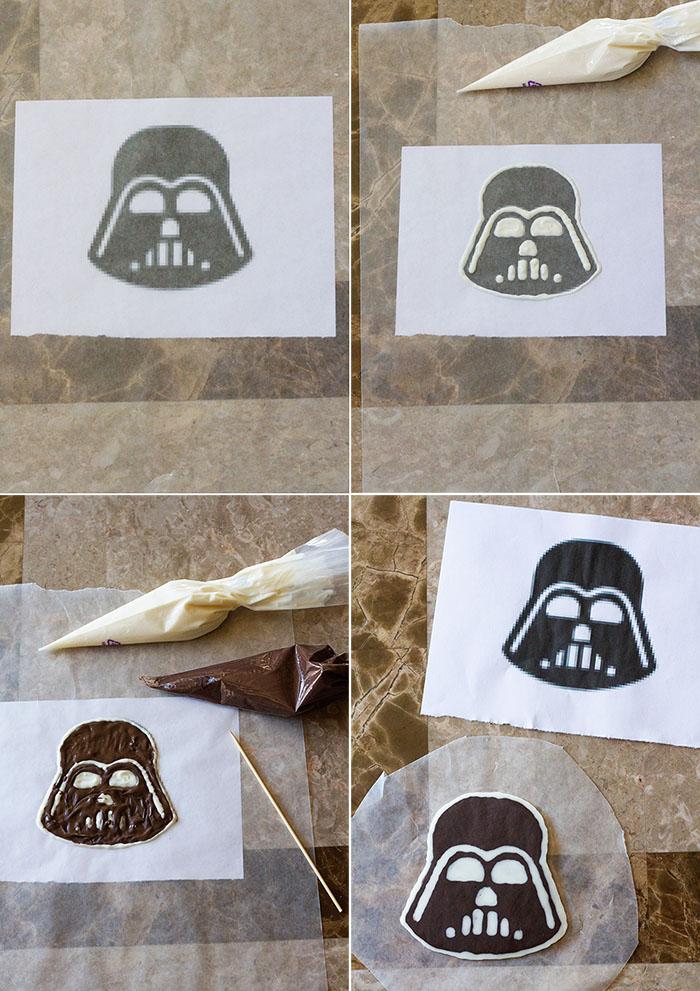 Making Chocolate Vader