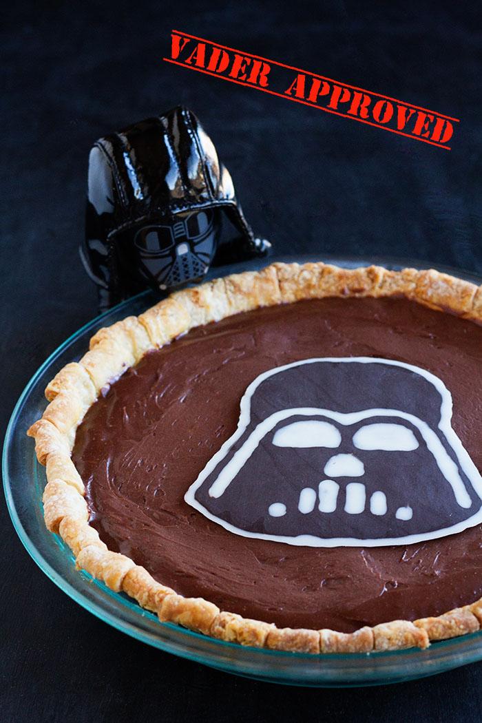 Vader Approved Dark Side Pie