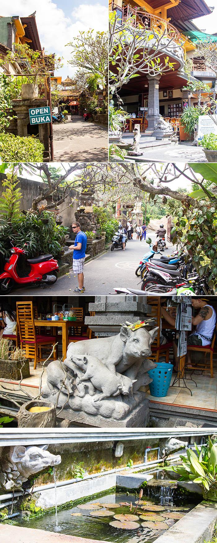 Ibu Oka in Ubud, Bali, Indonesia