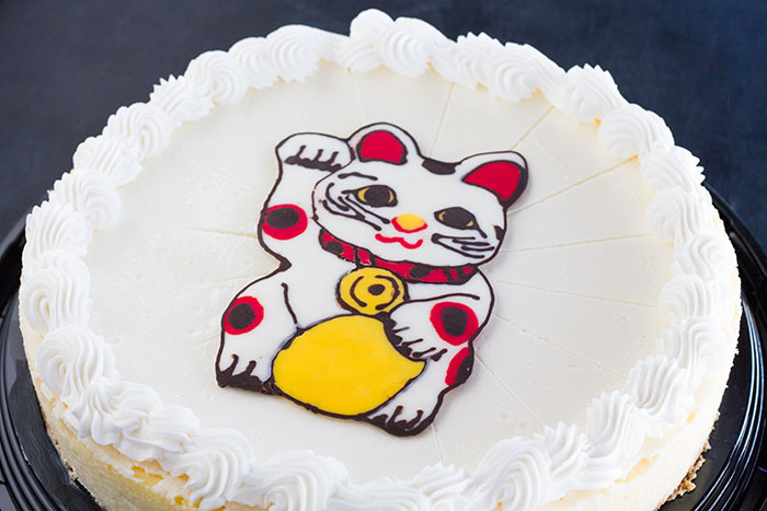 Maneki-neko Cheesecake
