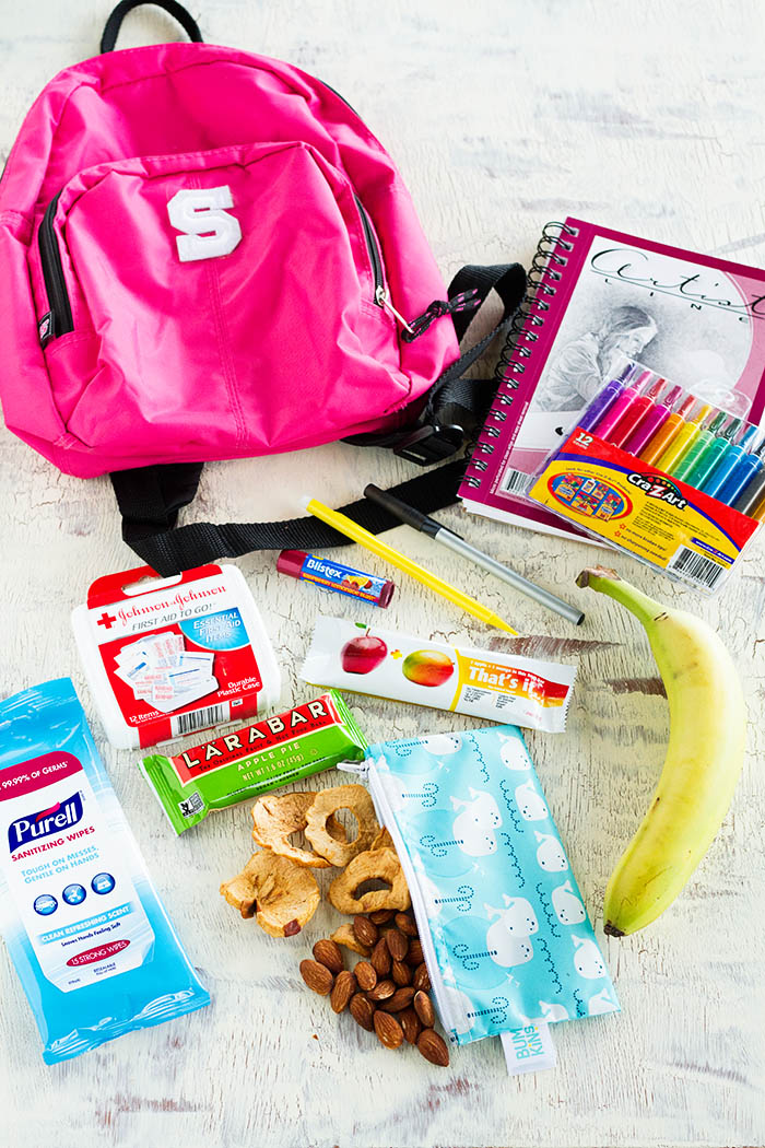 How to pack a travel pack for kids