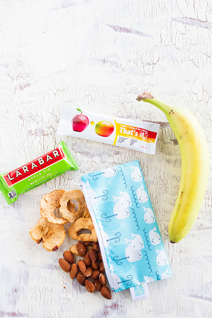 What to pack for travel snacks