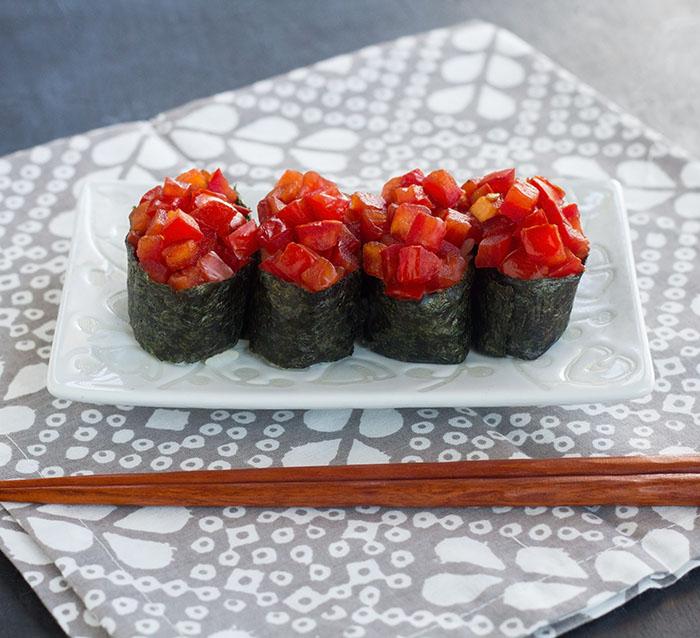 Fresh Tomato Gunkan-maki