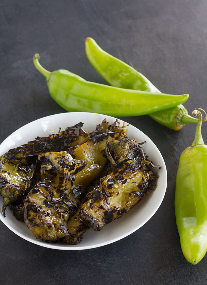 Roasted Hatch Chilies