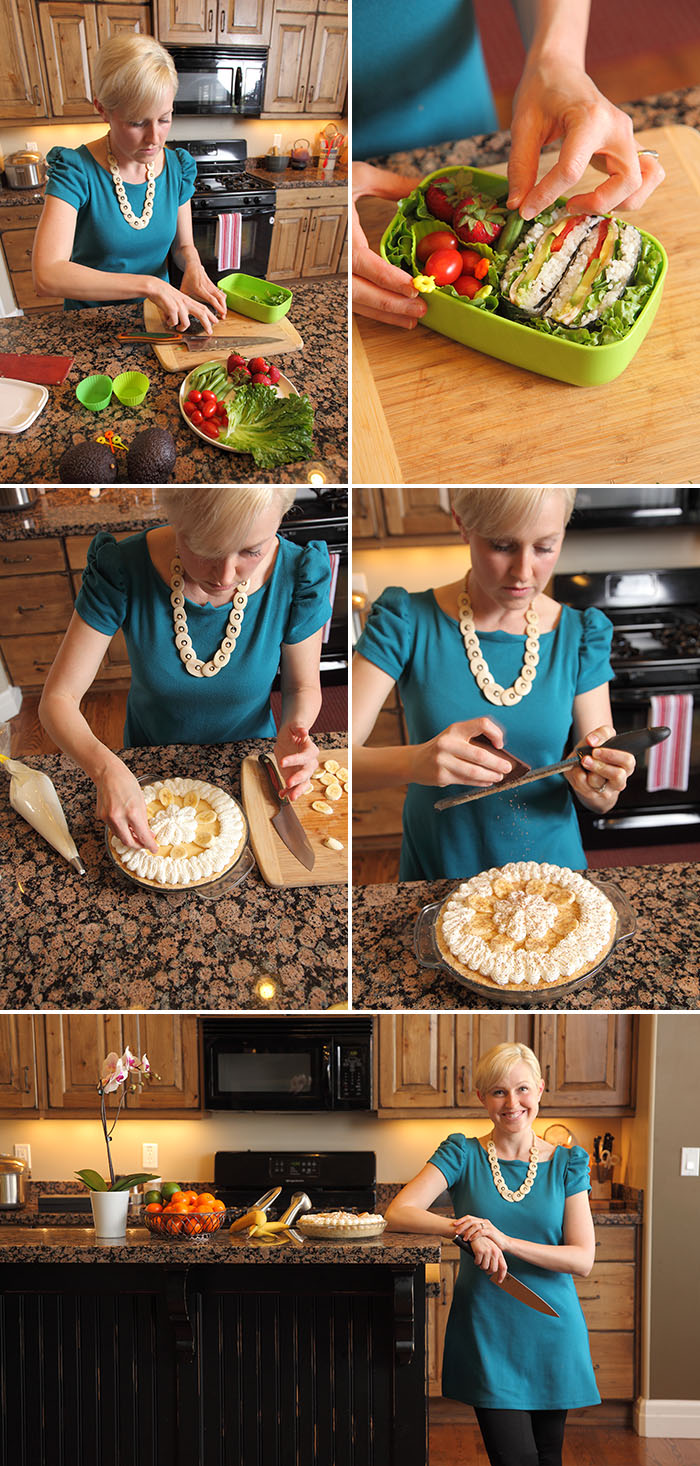 Photoshoot for Where Women Cook Magazine