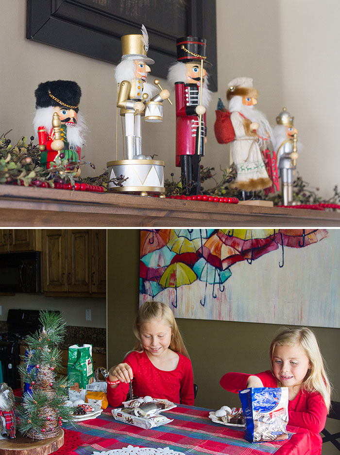 Nutcrackers and cookie plates
