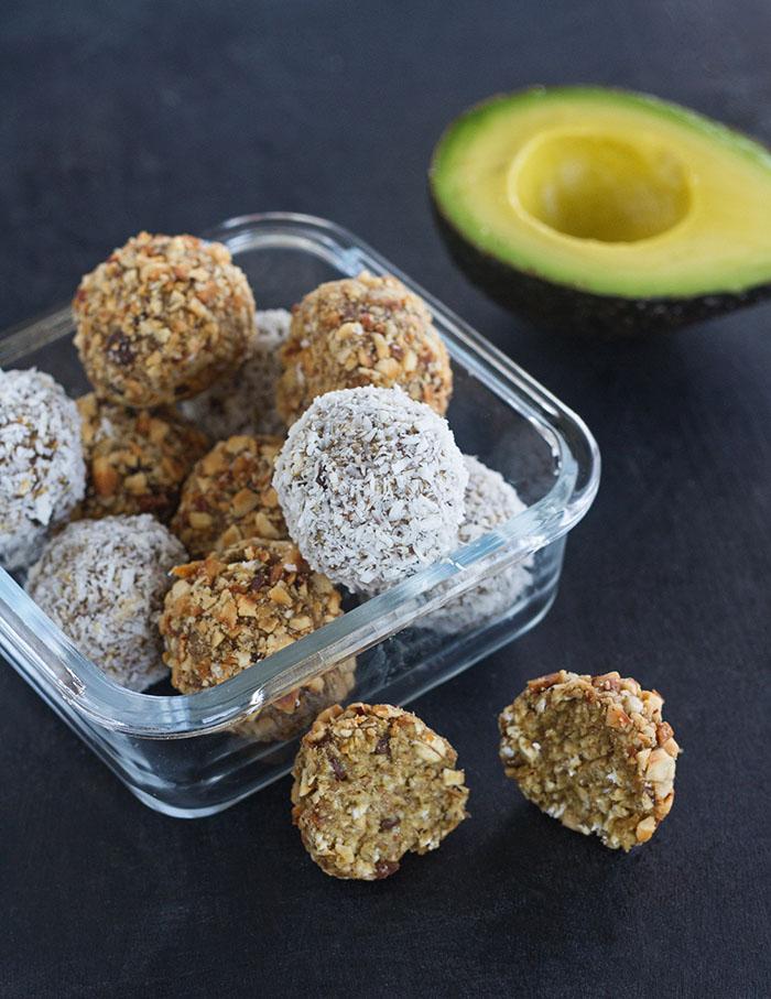 Avo-Nana Oatmeal Snack Bites