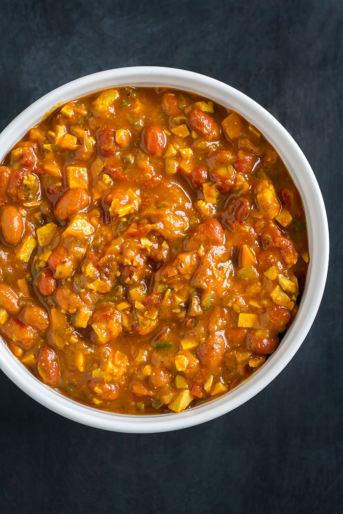Vegan Fuji Slow Cooker Pumpkin Chili