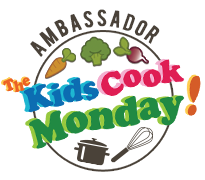 Official Kids Cook Monday Ambassador