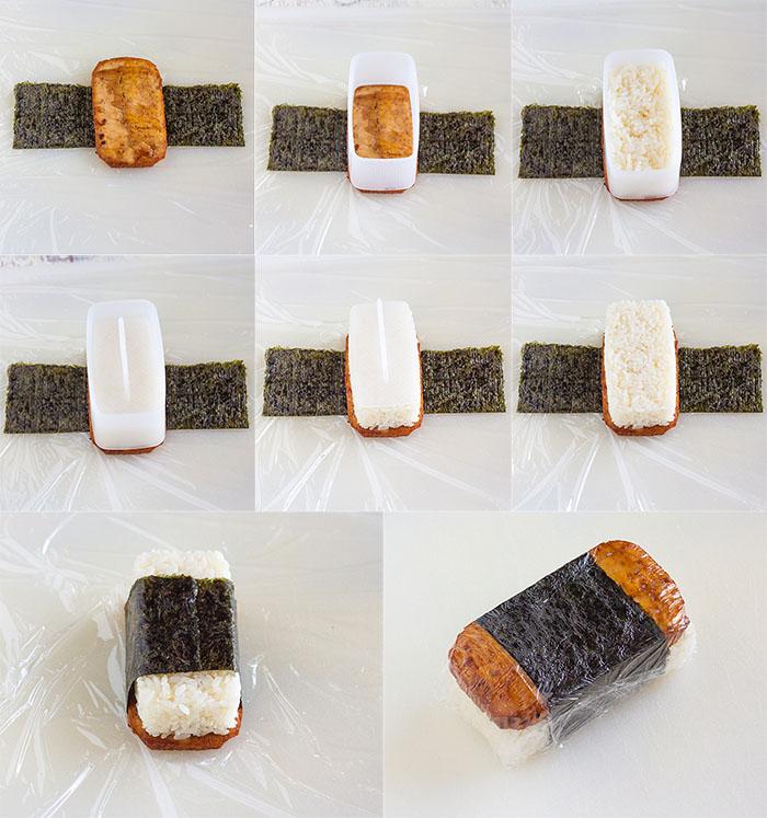 How to Make Tofu Spam Musubi