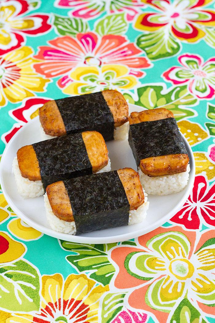Tofu Spam Musubi