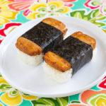 """Tofu """"Spam"""" Musubi"""
