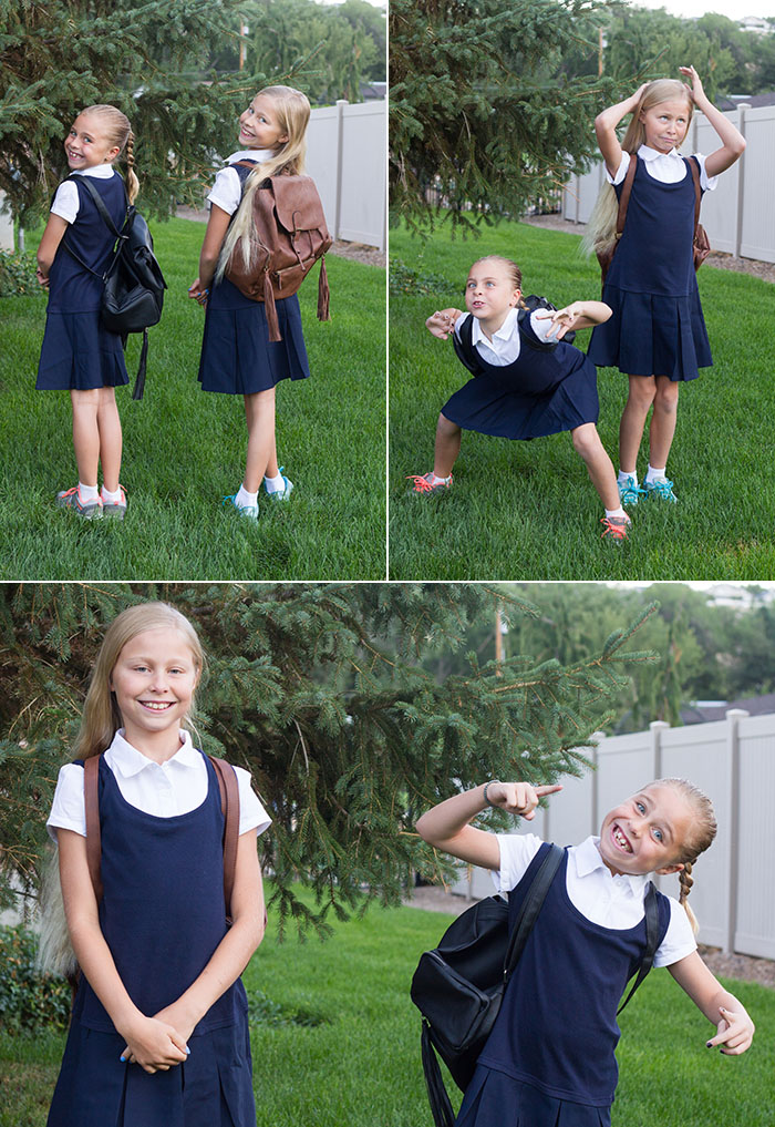 First Day of School for the Fujilings