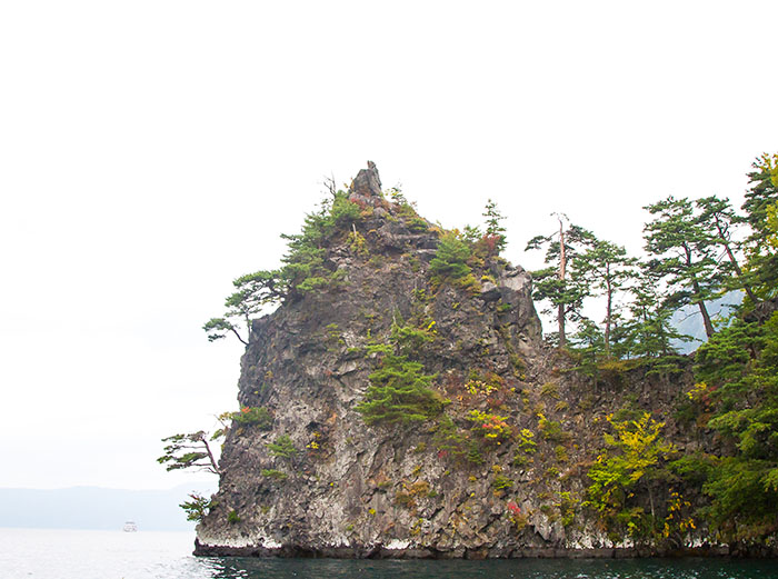 Cliffs around Lake Towada