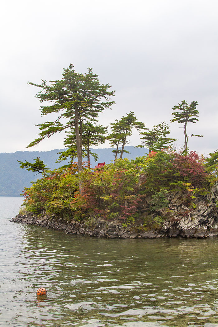 Little Island in Lake Towada