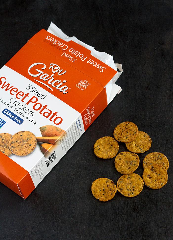 RW Garcia 3 Seed Sweet Potato Crackers