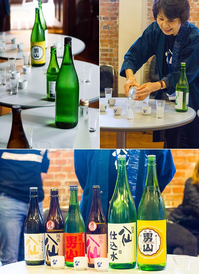 Brewery Sake Tasting