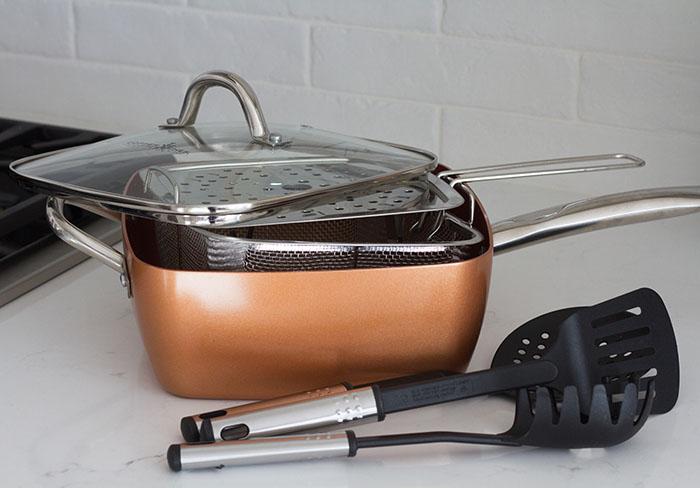 Copper Chef Square Pan Set