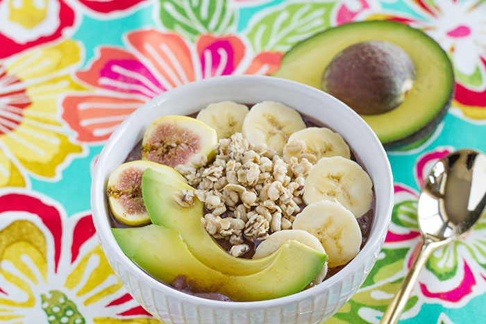 California Avocado Acai Bowl
