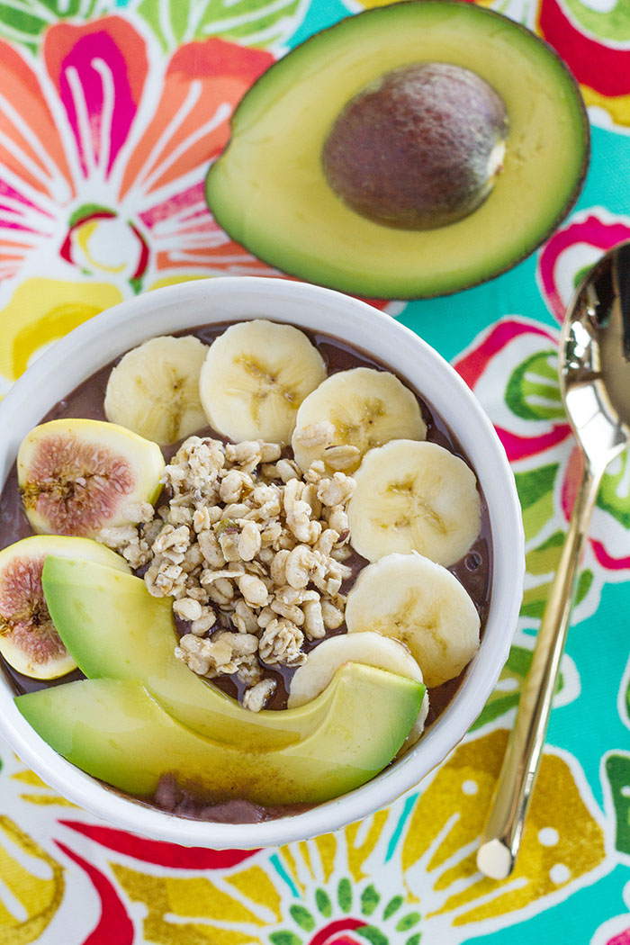 Avocado Acai Bowl