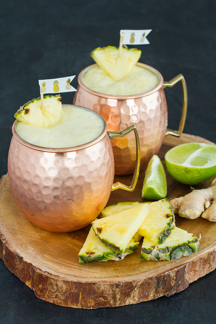 Ginger Pineapple Agua Fresca