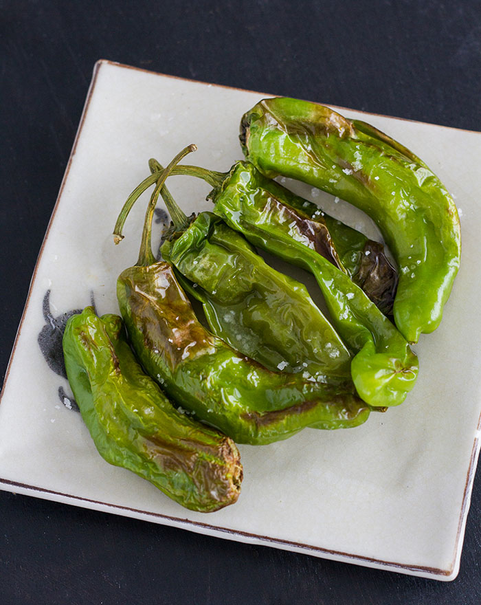 Air-fried Charred Shishito Peppers