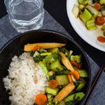 Vegetarian's Delight Chinese stir-fry
