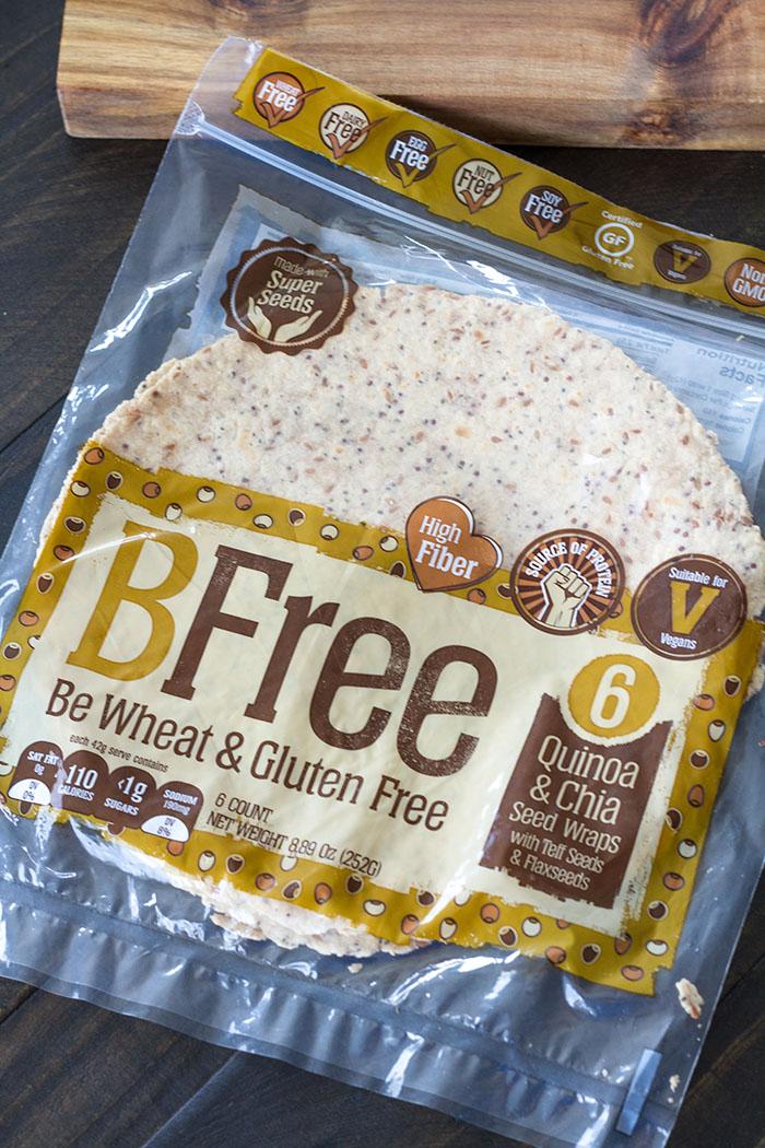 BFree Quinoa & Chia Seed Wraps