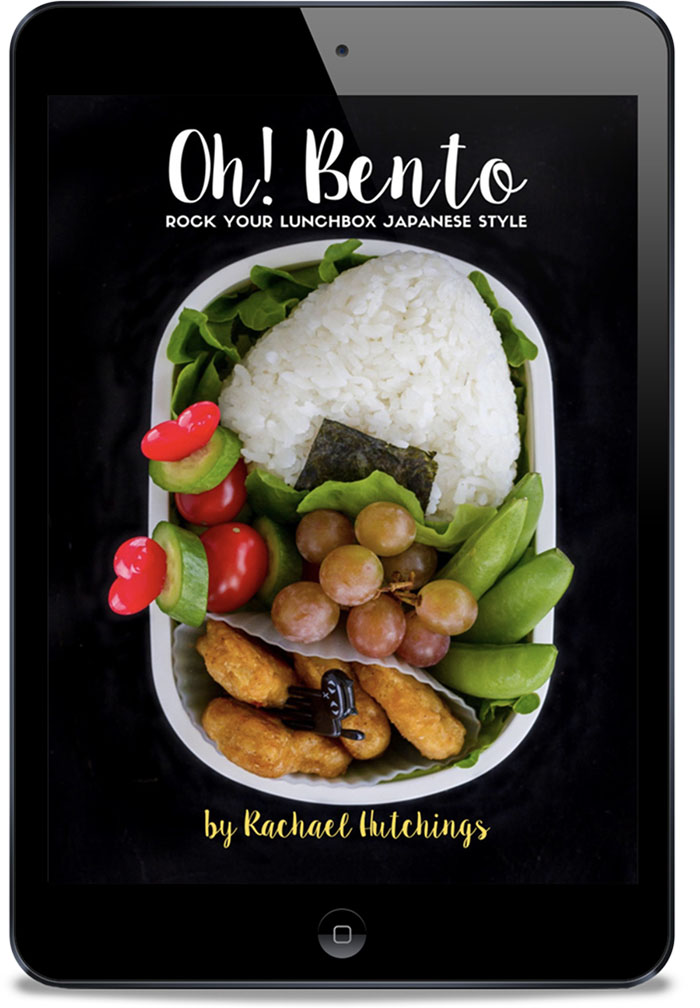 Oh! Bento: Rock Your Lunchbox Japanese Style, by Rachael Hutchings